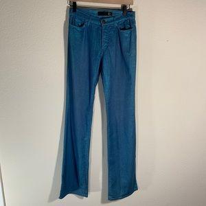 Just Cavalli Metallic Sparkle Blue Jeans 26